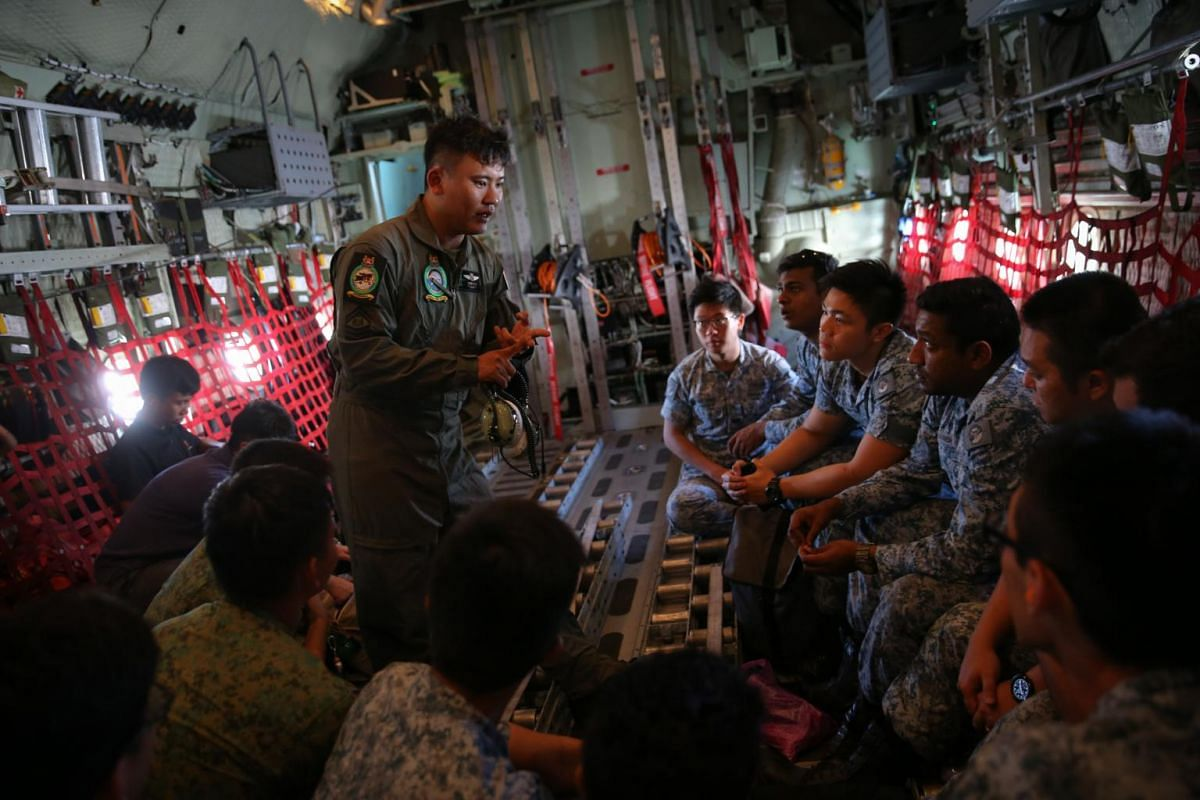 In total, more than 300 personnel from Singapore have been deployed so far.