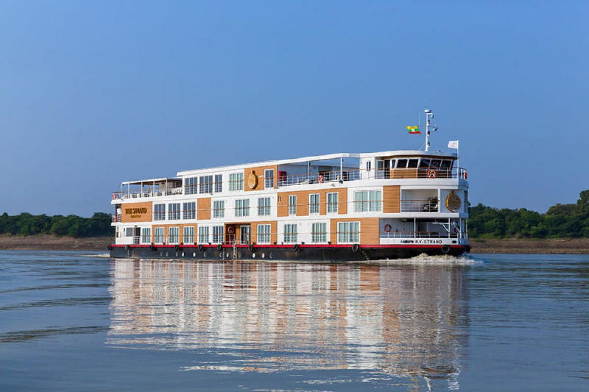 Yangon's grande dame hotel The Strand has launched a luxury vessel that meanders up and down the Irrawaddy River.