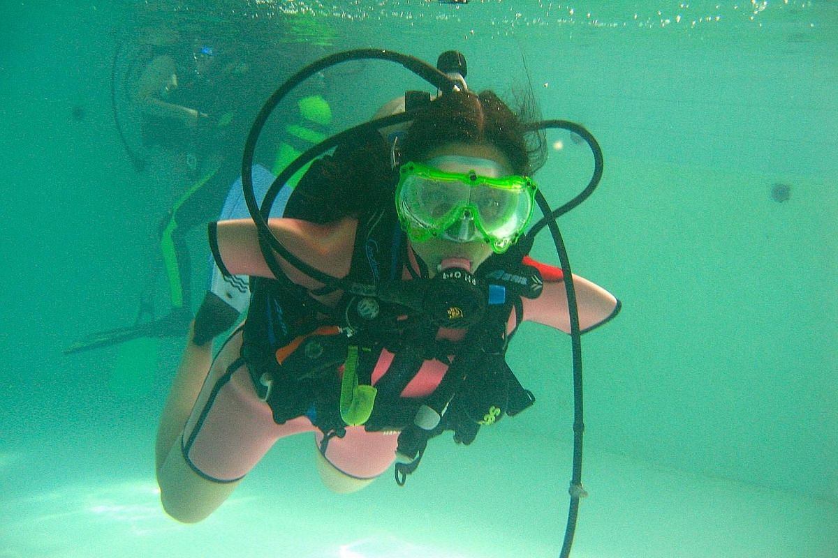 Cox loves the challenge of doing something new and being a certified scuba diver is one of her accomplishments.