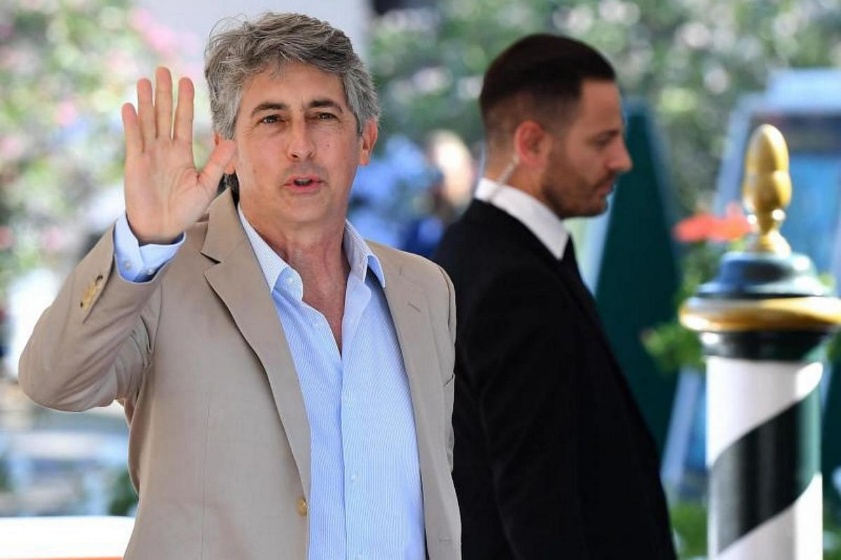 US director Alexander Payne arrives at the Lido Beach for the 74th annual Venice International Film Festival, in Venice, Italy, on Aug 30, 2017.