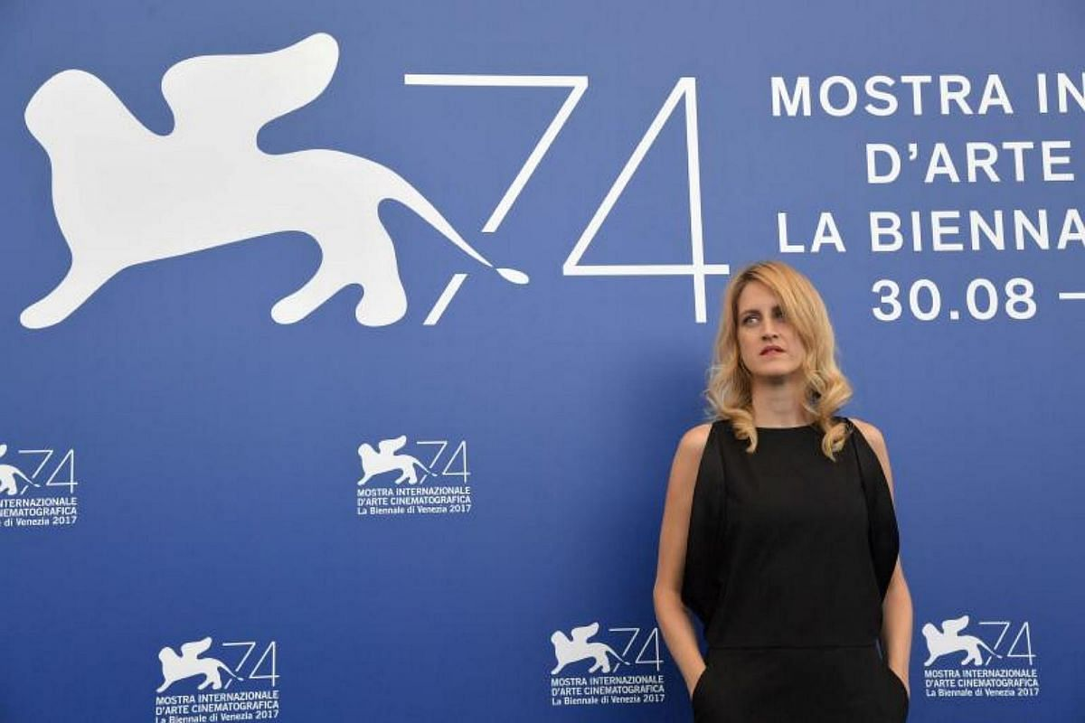 Belgian director Fien Troch attends a photocall of one of the four jury section, Orizzonti at the 74th Venice Film Festival on Aug 30, 2017 at Venice Lido.
