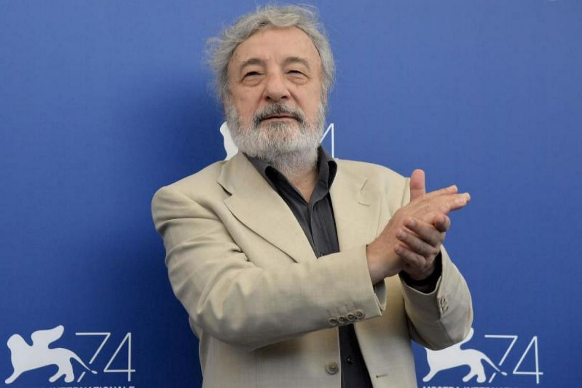 Italian Gianni Amelio, president, attends a photocall of one od the four jury, Orizzonti, at the 74th Venice Film Festival on Aug 30, 2017 at Venice Lido.