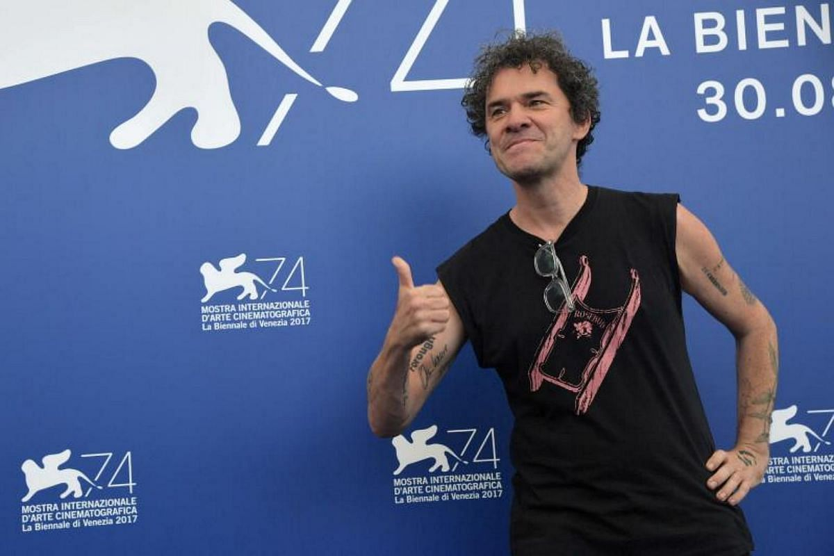 British director Mark Cousins attends a photocall of one of the four jury, Orizzonti, at the 74th Venice Film Festival on Aug 30, 2017 at Venice Lido.