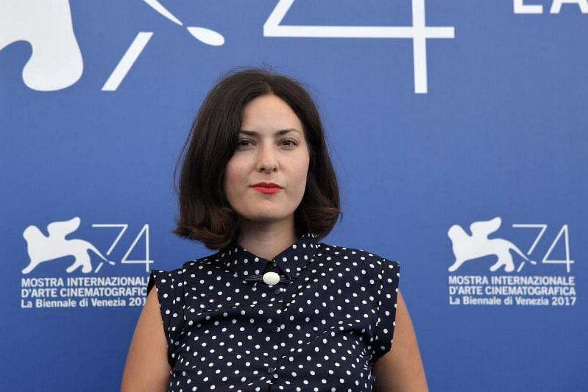 French director Rebecca Zlotowski attends a photocall of one of the four jury section, Orizzonti, at the 74th Venice Film Festival on Aug 30, 2017 at Venice Lido.