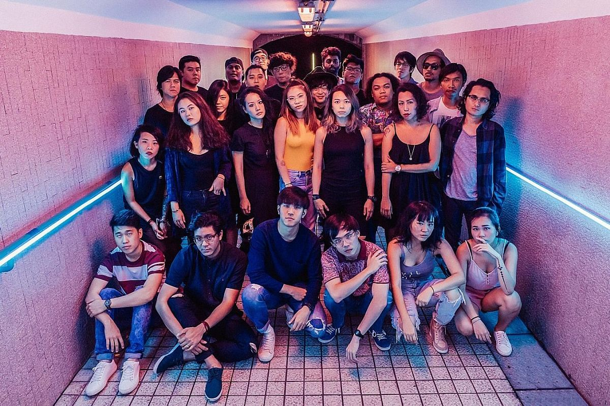 The participating emerging and established musicians of The Great Singapore Replay (except electronic duo .gif)