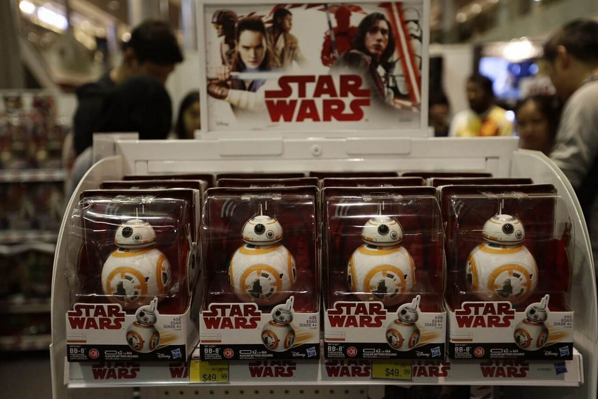 Battery-operated BB-8.