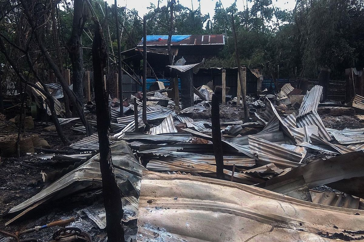 Ms Aung San Suu Kyi last Monday accused Rohingya fighters of burning down homes and using child soldiers during a surge in violence in Rakhine state, allegations denied by the militants themselves.