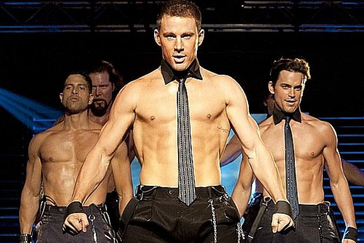 Channing Tatum as Magic Mike (above).