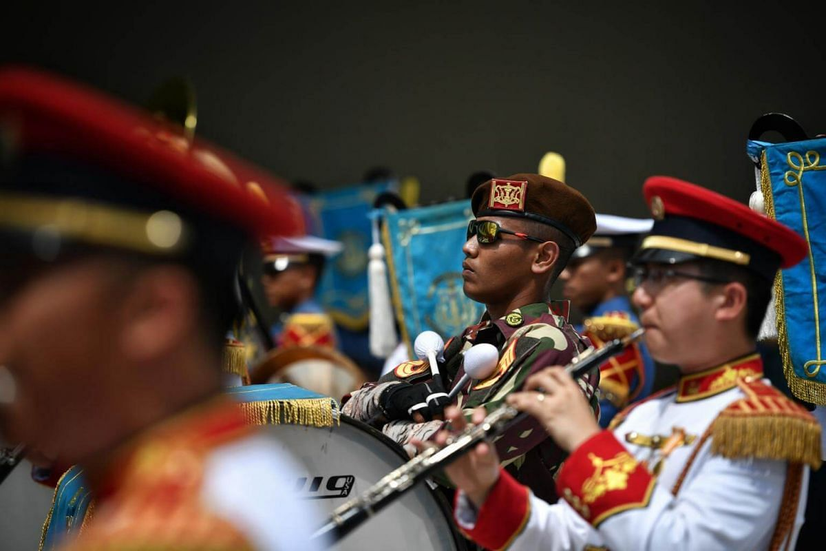 The SAF Central Band and the TNI Academy Drum Band put up both separate and combined performances.