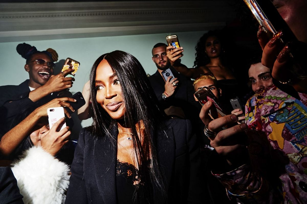 Naomi Campbell at makeup artist Pat McGrath's vogue ball at China Chalet during New York Fashion Week, on Sept 6, 2017.