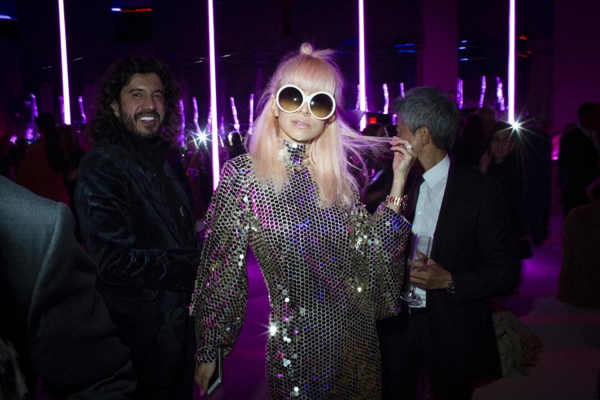 Yoko Kondoh at the Tom Ford after-party at the Park Avenue Armory during New York Fashion Week, on Sept  6, 2017.