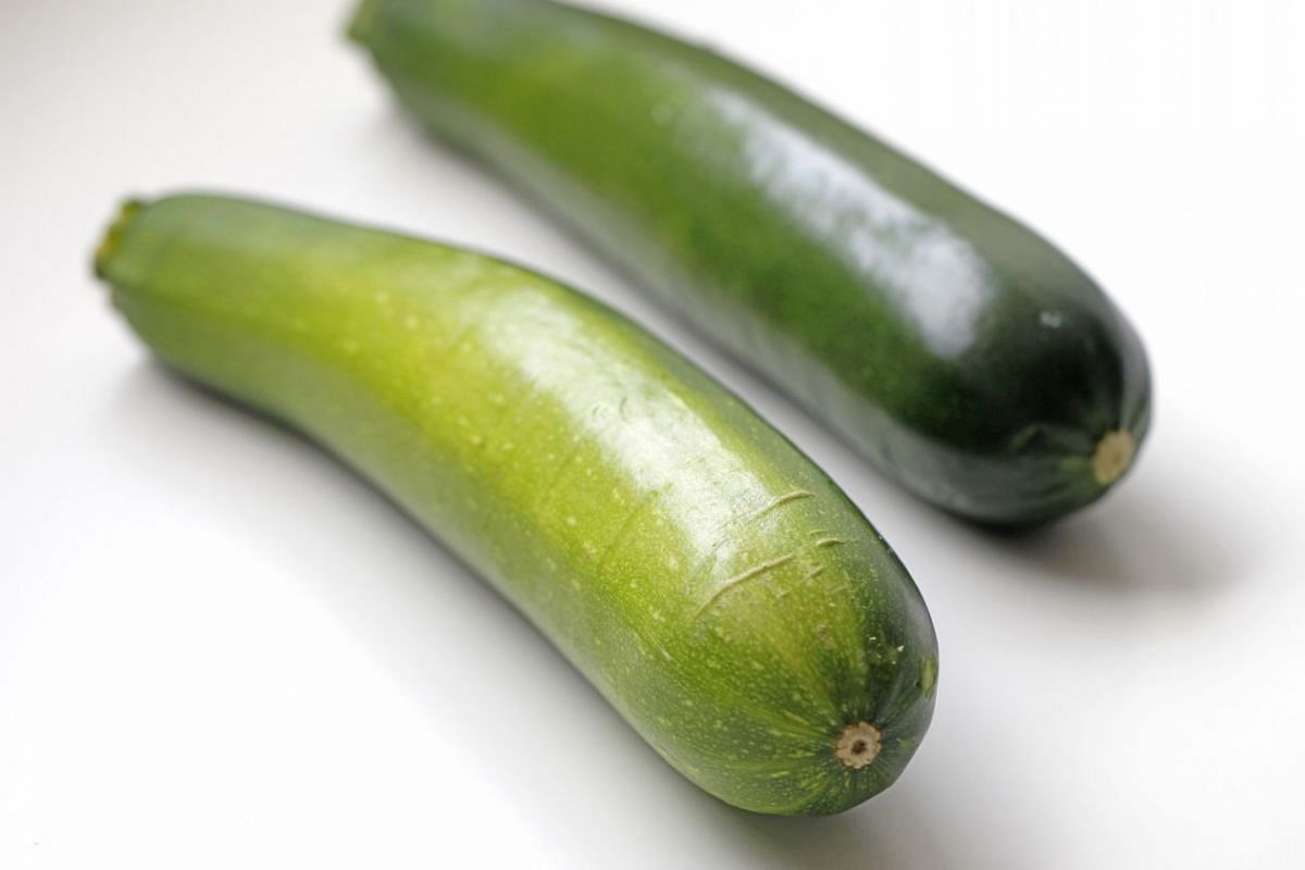 Large zucchini.