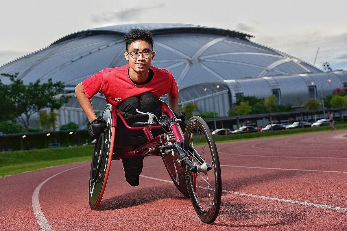 Despite his early difficulty as a wheelchair racer, Shahrul Izwan's determination was a key factor in propelling him to his first APG.