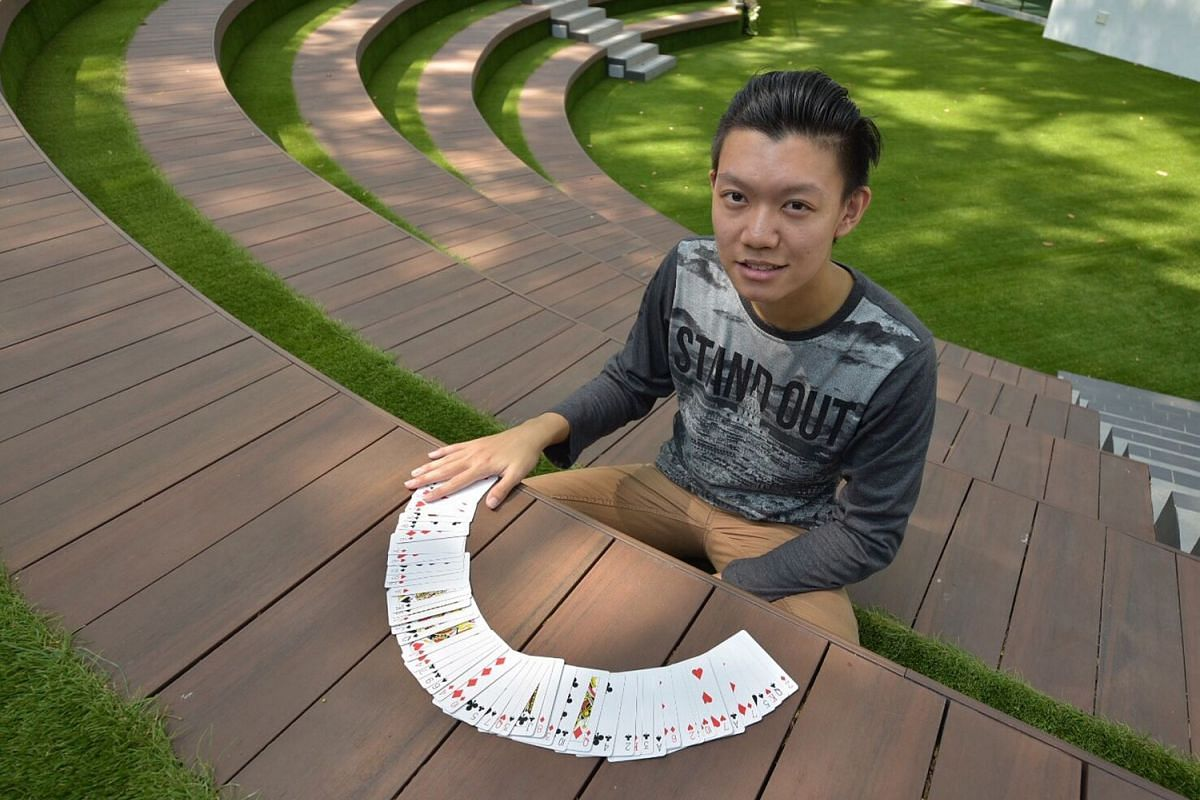 Mr Kenneth Tan is a top memory athlete in Singapore, holding six memory records.