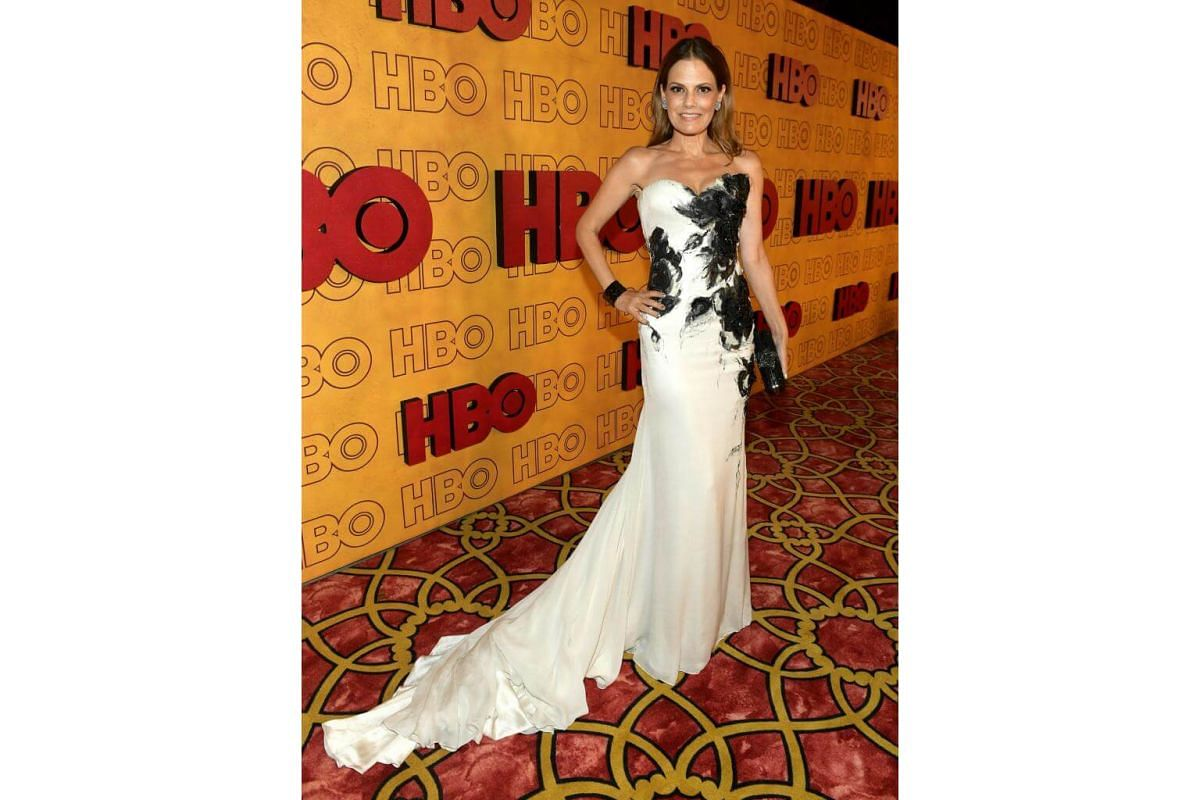 Suzanne Cryer attends HBO's Post Emmy Awards Reception at The Plaza at the Pacific Design Center in Los Angeles, on Sept 17, 2017.