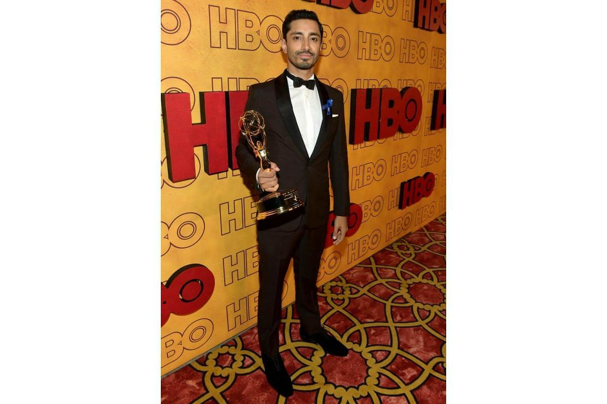 Riz Ahmed attends HBO's Post Emmy Awards Reception at The Plaza at the Pacific Design Center in Los Angeles, on Sept 17, 2017.