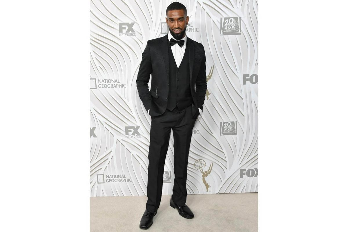 Actor Rashaad Dunn attends the 69th Primetime Emmy Awards After Party at Vibiana in Los Angeles, on Sept 17, 2017.