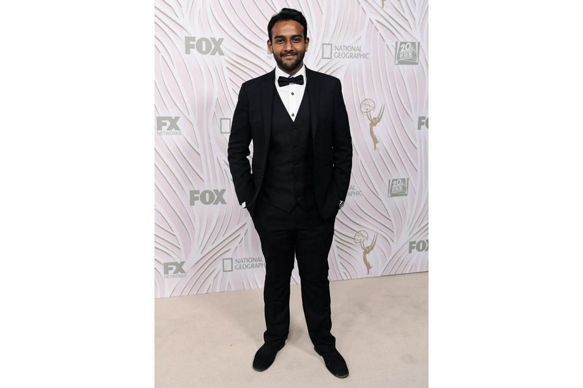 Actor Sri Batchu attends the 69th Primetime Emmy Awards After Party at Vibiana in Los Angeles, on Sept 17, 2017.