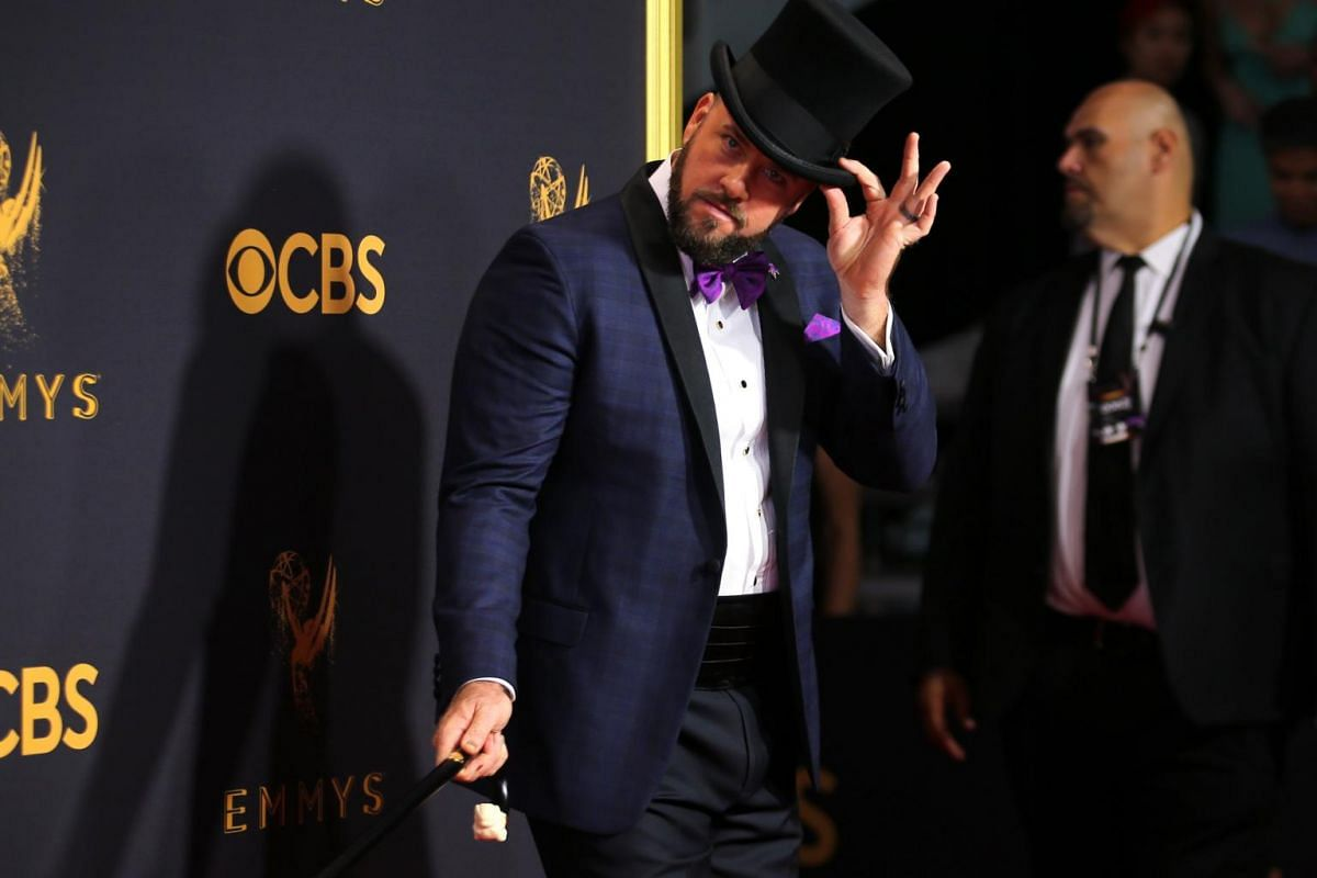 This Is Us actor Chris Sullivan at the 69th Primetime Emmy Awards in Los Angeles, California, on Sept 17, 2017.