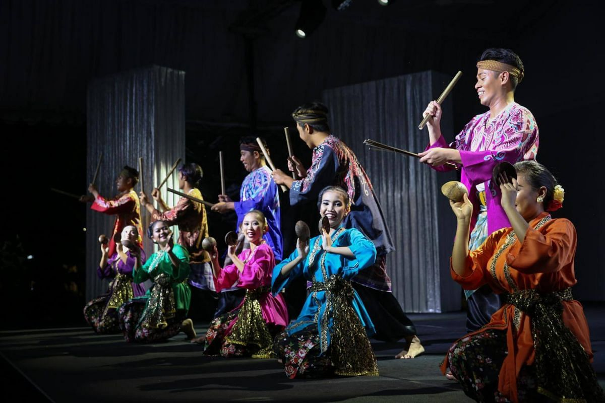 A full-dress rehearsal by Artiste Seni Budaya, which hopes to share the rich cultural heritage of Malay performing arts.