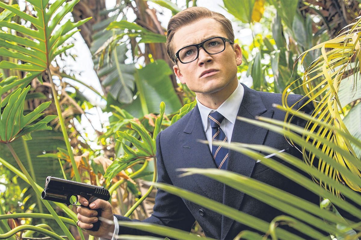 A ROYAL HOOT: Kingsman: The Golden Circle, sequel to a 2014 surprise hit, mixes the slickness of James Bond with American-style cowboy humour in a new adventure starring Taron Egerton (above) as a British secret agent.