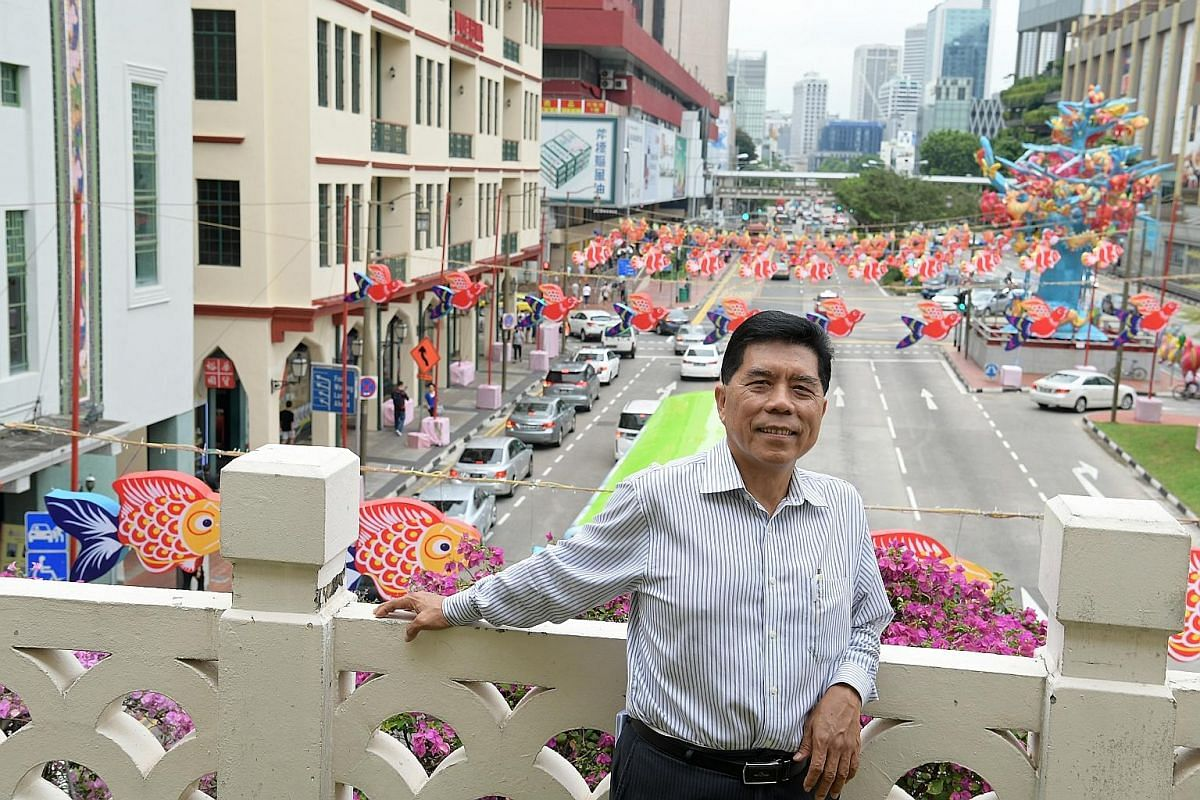 Mr Lim Gek Meng enjoys visiting fishball noodle stalls around the island with his wife to suss out food standards.