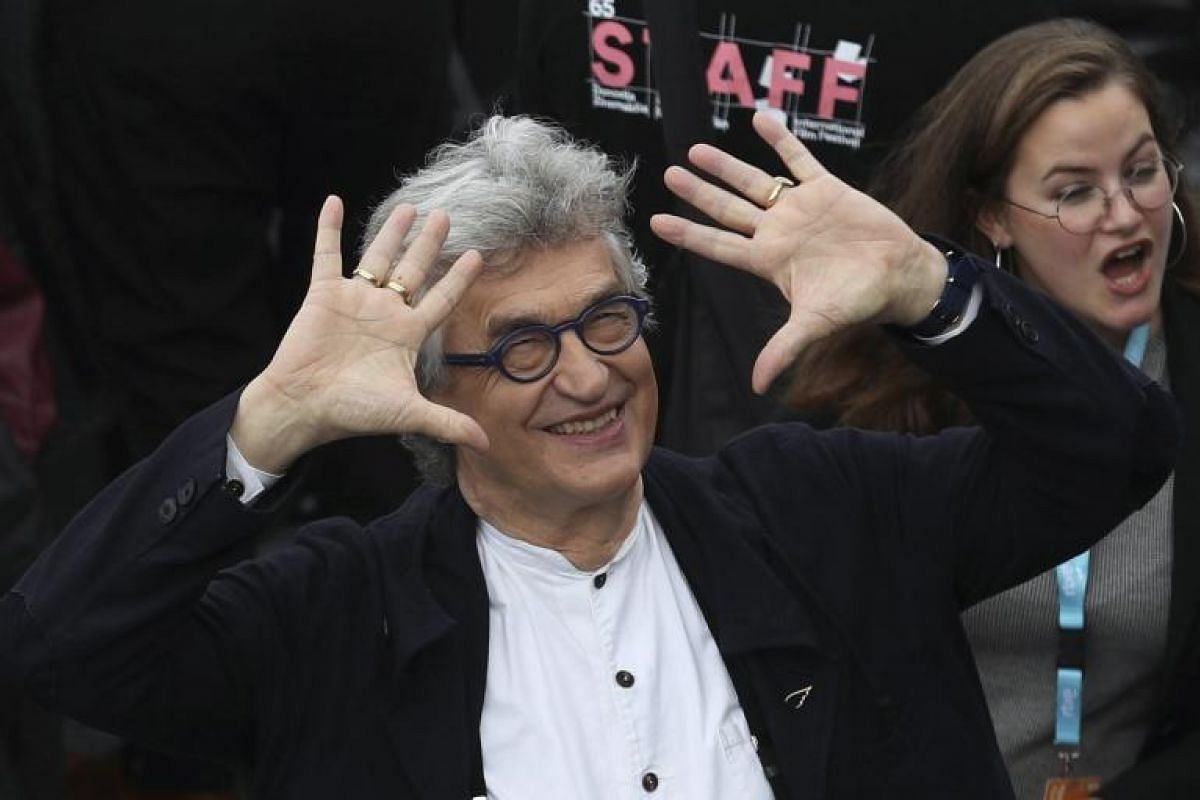 German director Wim Wenders poses during the photocall for his film Submergence.