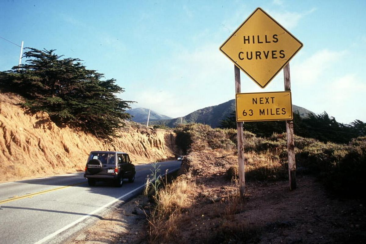 California cruising - the state offers many scenic routes, not least the Pacific Coast Highway, one of the world's classic road trips.
