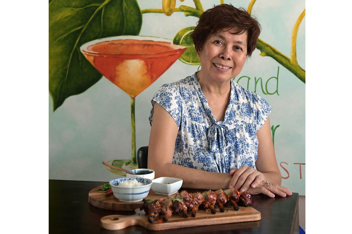 Madam Tang Bee Leng's Chinese-style sticky pork ribs is a hit with friends and family.