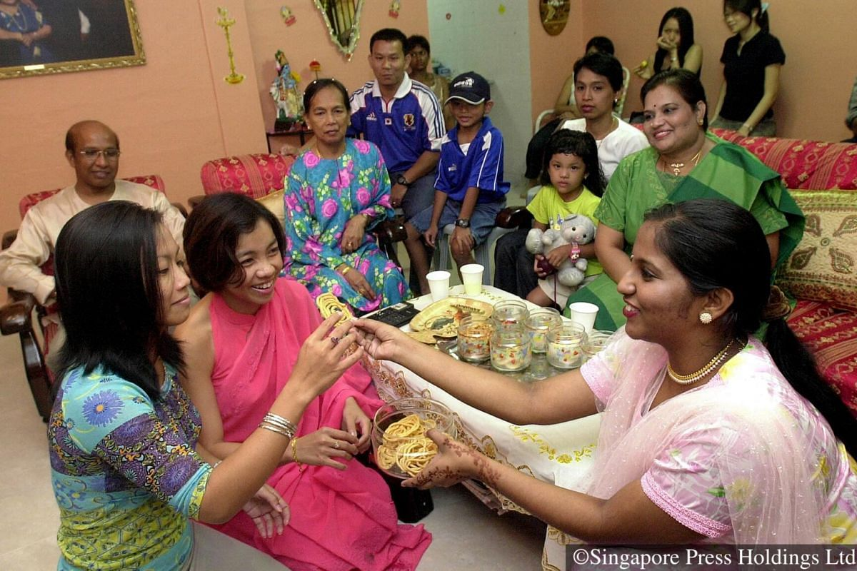 2003: Deepavali usually falls around late October or early November yearly on the new moon day. Non-Hindus also share in the celebration by visiting their Hindus friends.