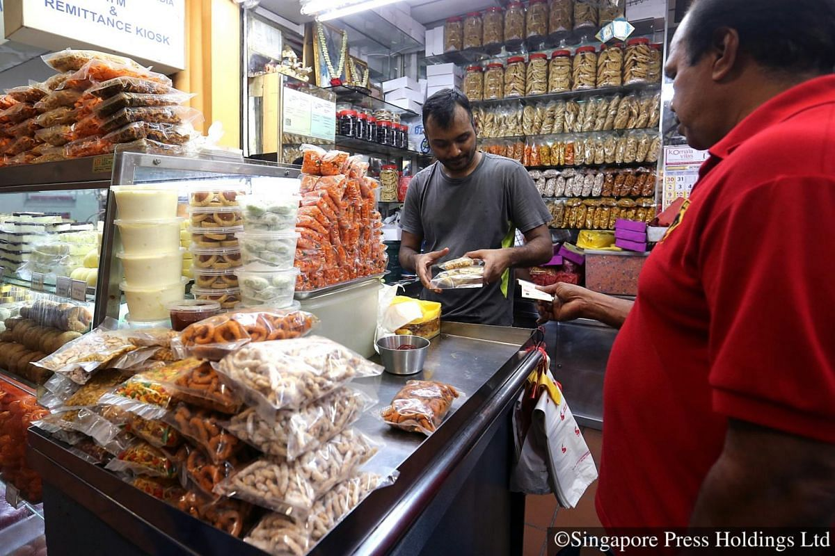 """2016: A wide array of savouries like """"Murukku"""" and """"Omapodi"""" (deep fried snacks made of rice and gram flour) are highly sought after during Deepavali."""