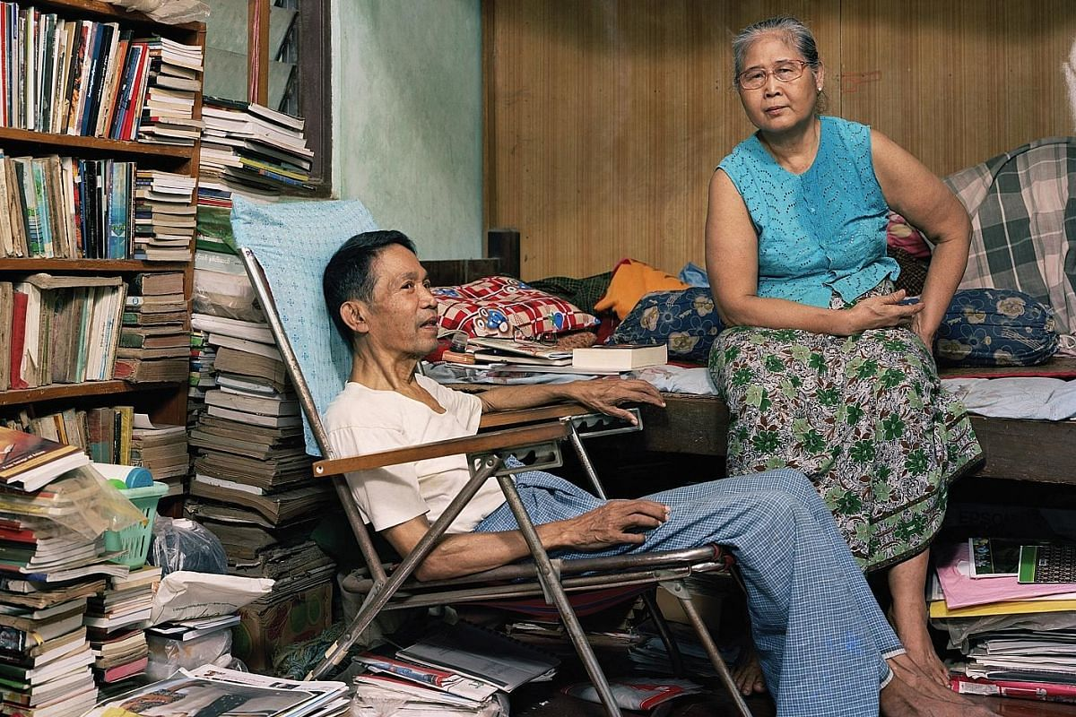 Burma Storybook captures scenes in the life of artist and former political prisoner Maung Aung Pwint (left, with his wife, Daw Nan Shwe Nyunt). Cuts is a provocative and often funny documentary recording of the workings of Indonesia's censorship boar