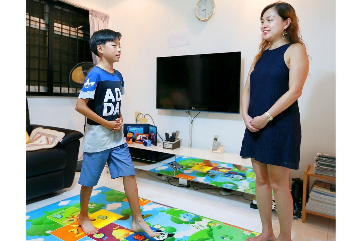 Human resources executive Cindy Ho enrolled her son Arthur Cheong in an etiquette class that included lessons on how to sit, stand and walk.
