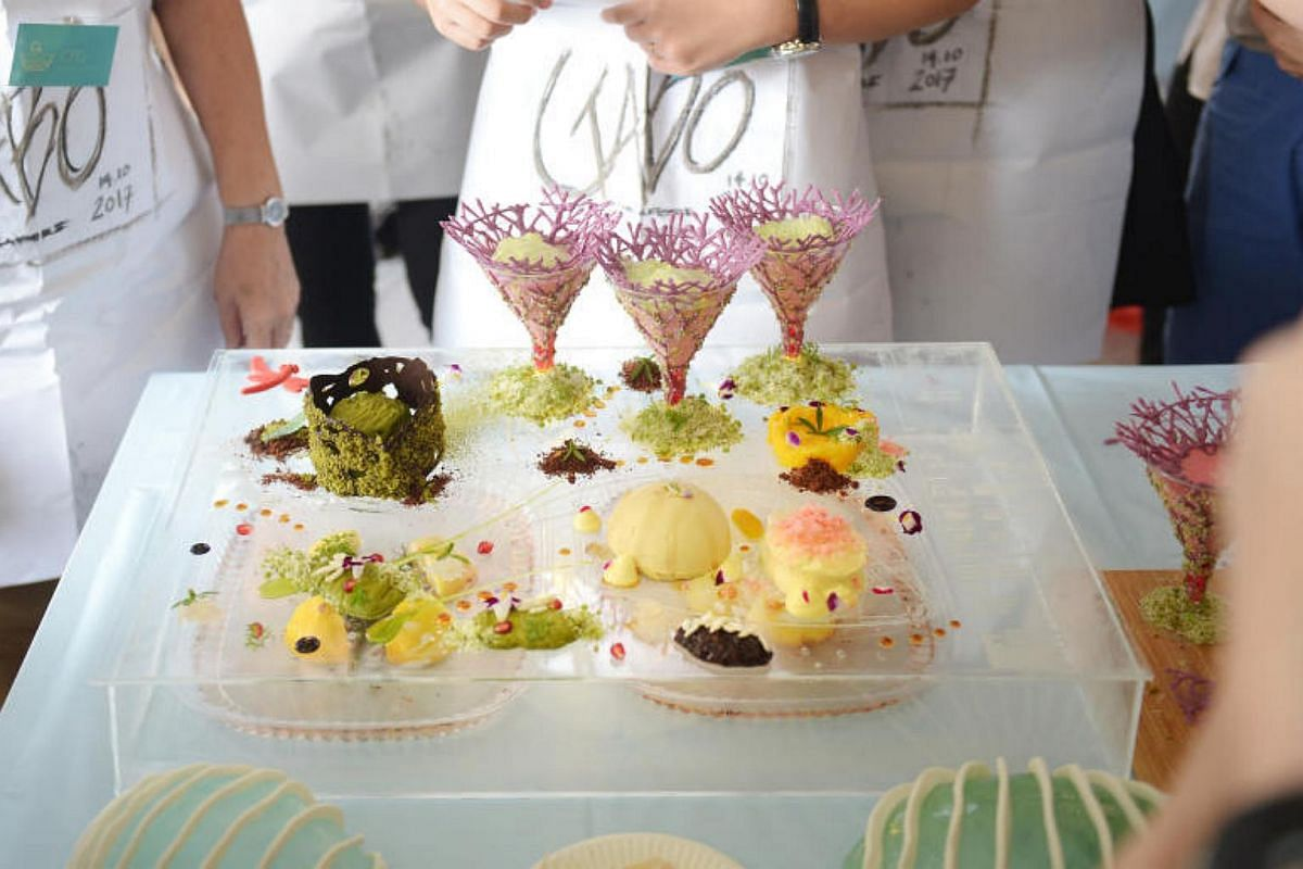 CPG Consultants' recreation of Gardens by the Bay was deemed the tastiest creation by the judges.