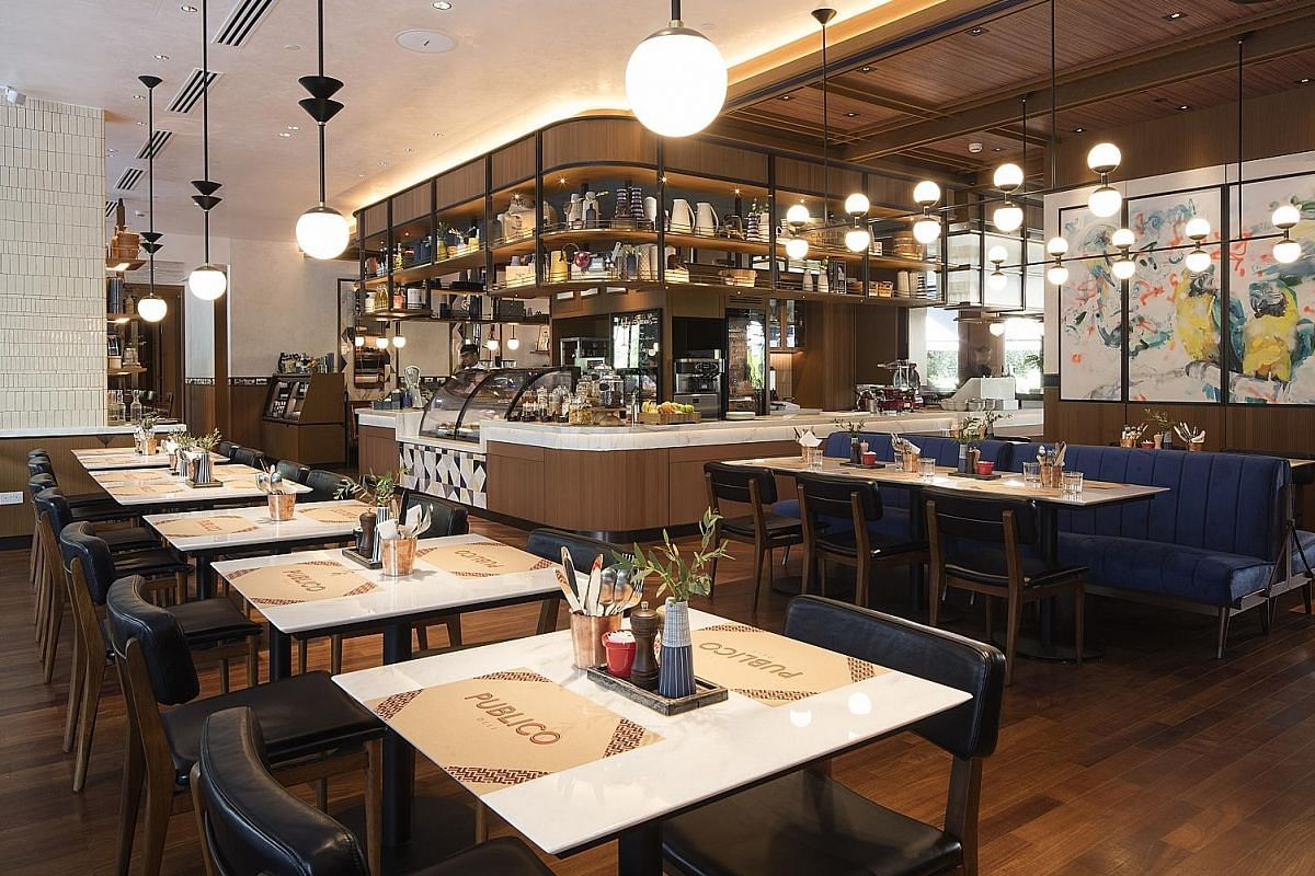 Publico Deli is located on the first floor of InterContinental Singapore Robertson Quay.