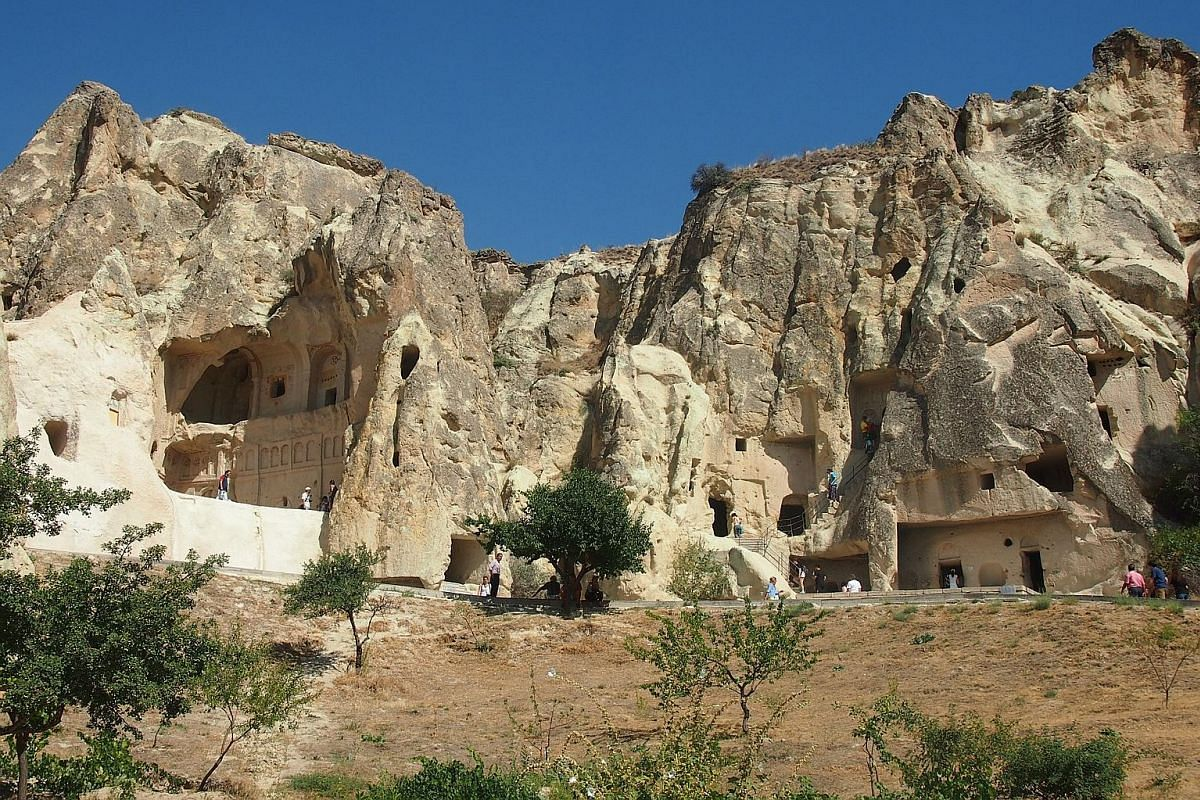 The Goreme Open-Air Museum houses 11 rock-cut refectories and their connected churches, most of which date to the 10th, 11th and 12th centuries.