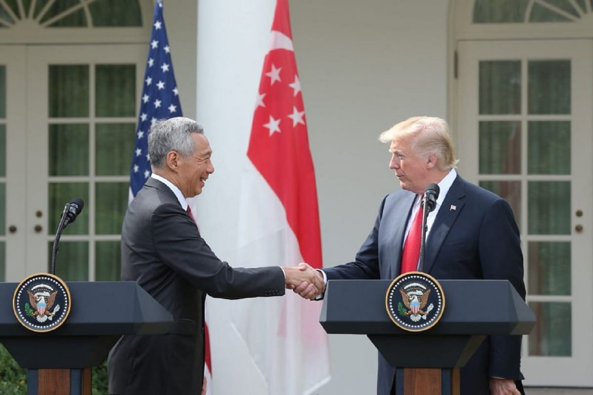 Mr Trump has accepted PM Lee's invitation to visit Singapore at the earliest opportunity.