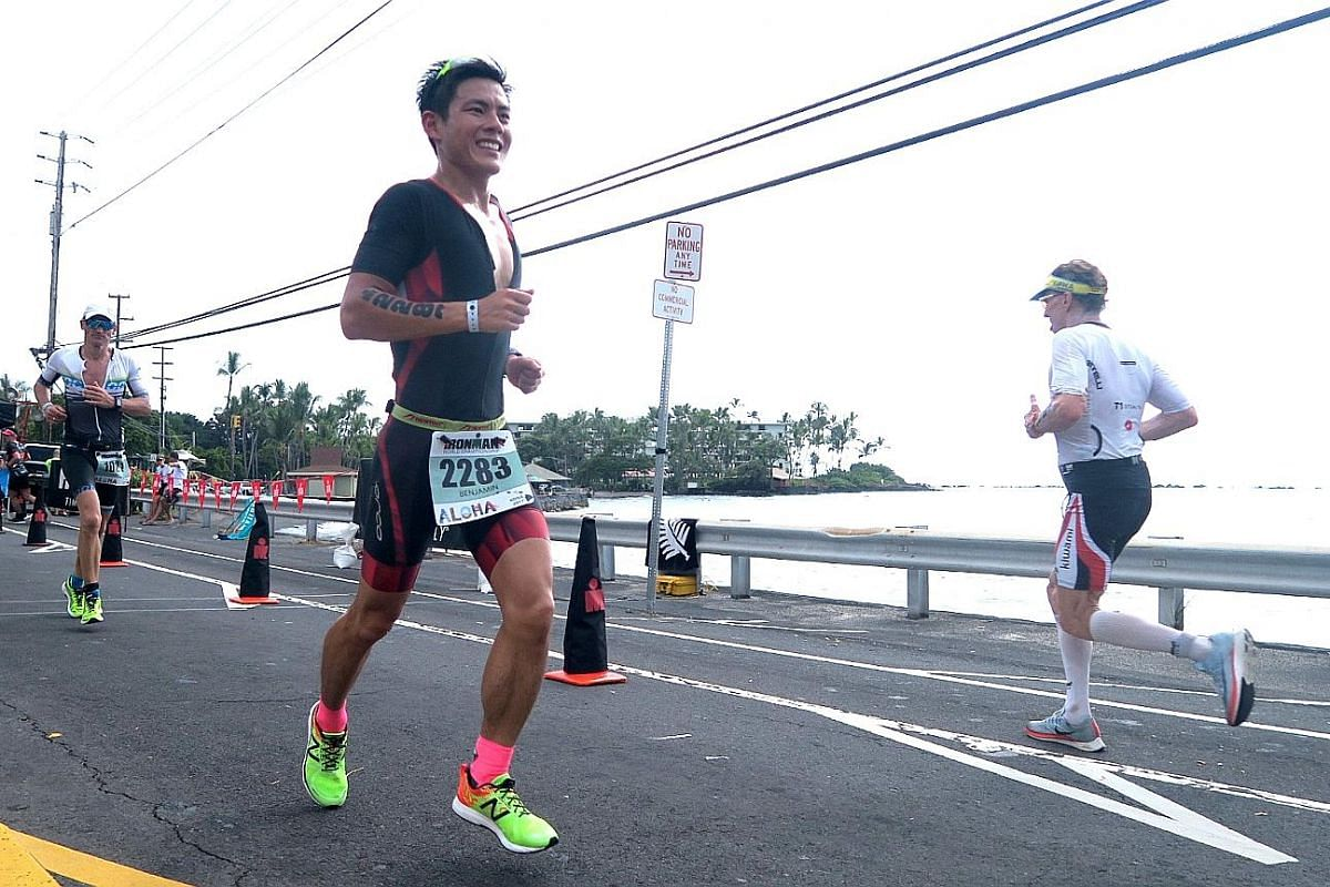 Mok Ying Ren was in Hawaii to cheer Benjamin Ooi on in the latter's first Ironman World Championships on Oct 14. The experience made Mok, a former triathlete, more appreciative of similar support he has received.