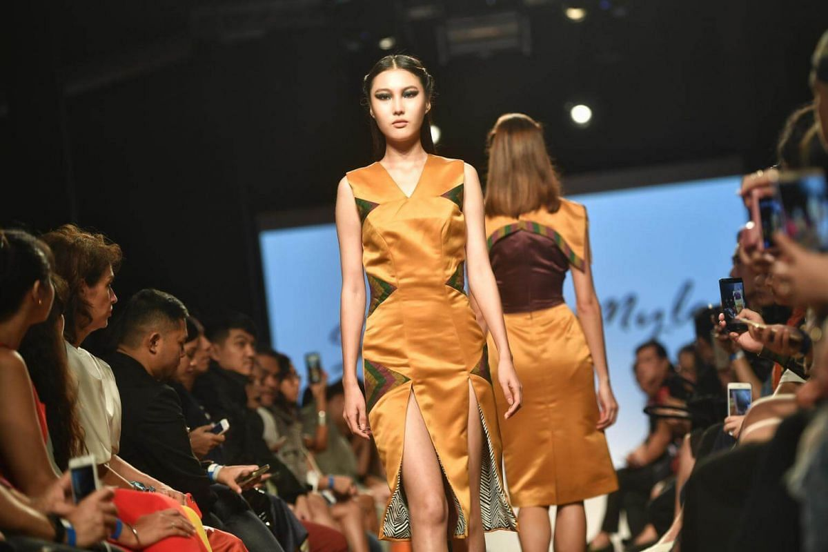 Steffy de Mylo's collection during the Asia Fashion Designers Showcase on the second day of Singapore Fashion Week on Oct 27, 2017.