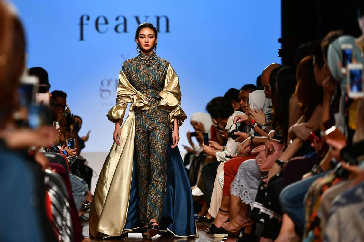 MODESTyle Fashion Showcase 3 featuring Singapore's Feayn, at National Gallery Singapore on Oct 28, 2017.