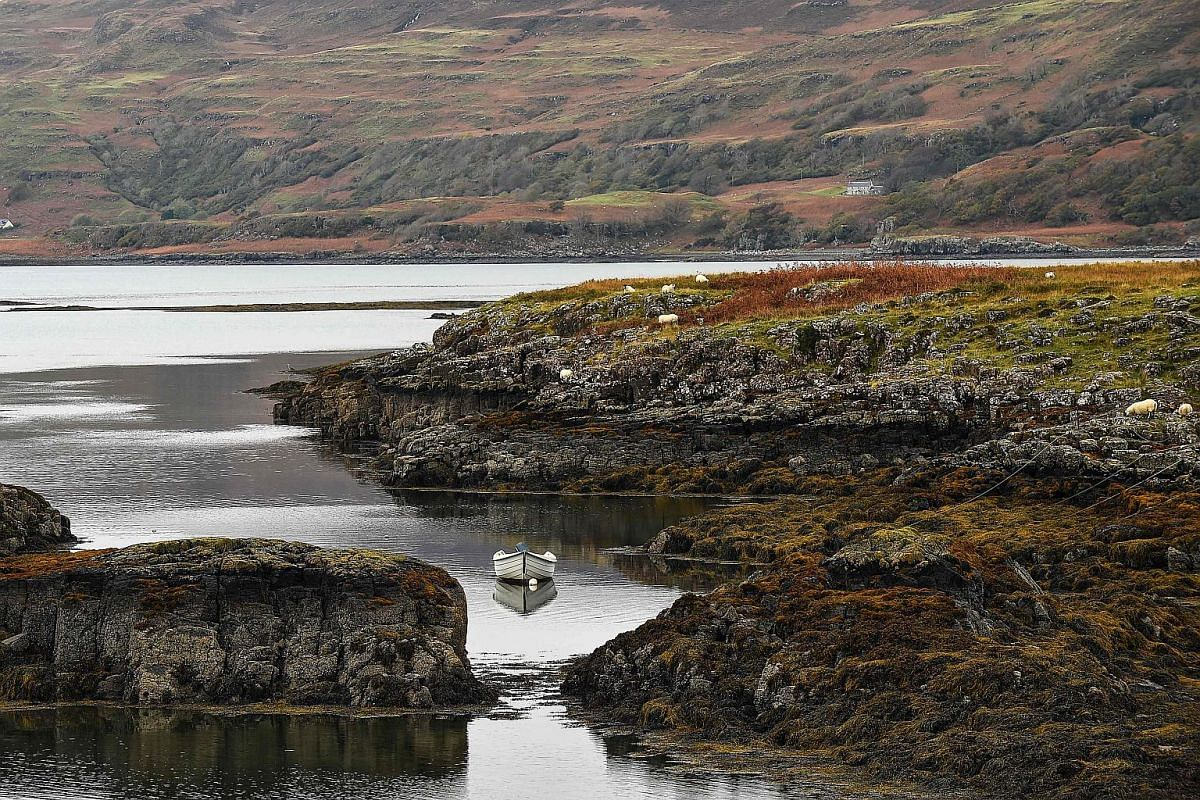 A view of the Isle of Ulva.