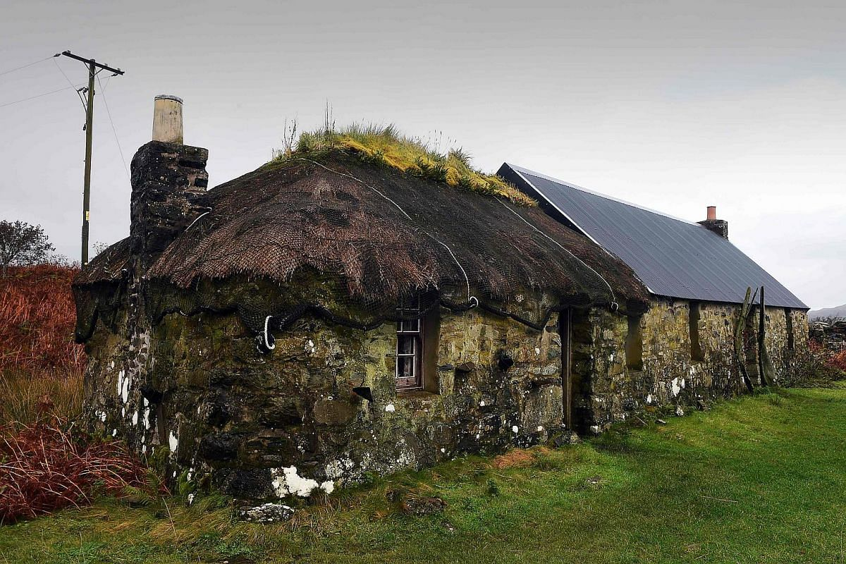 A traditional house on the Isle of Ulva.