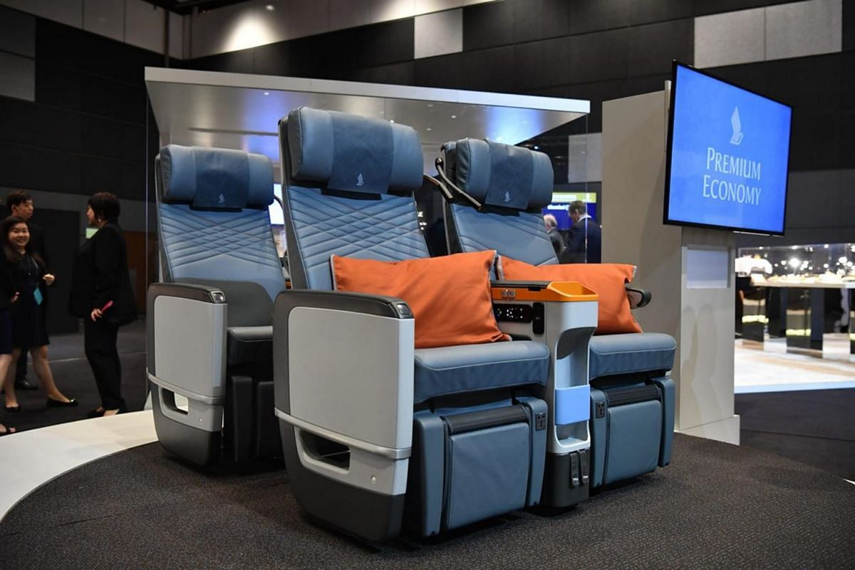 Premium Economy passengers can expect more space and greater comfort through an improved design.