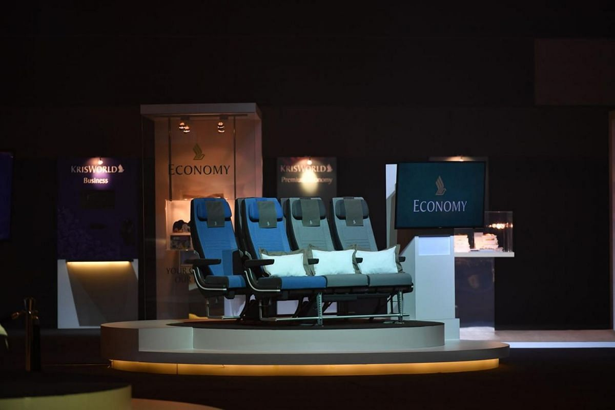 Economy class' new look for SIA's Airbus 380.