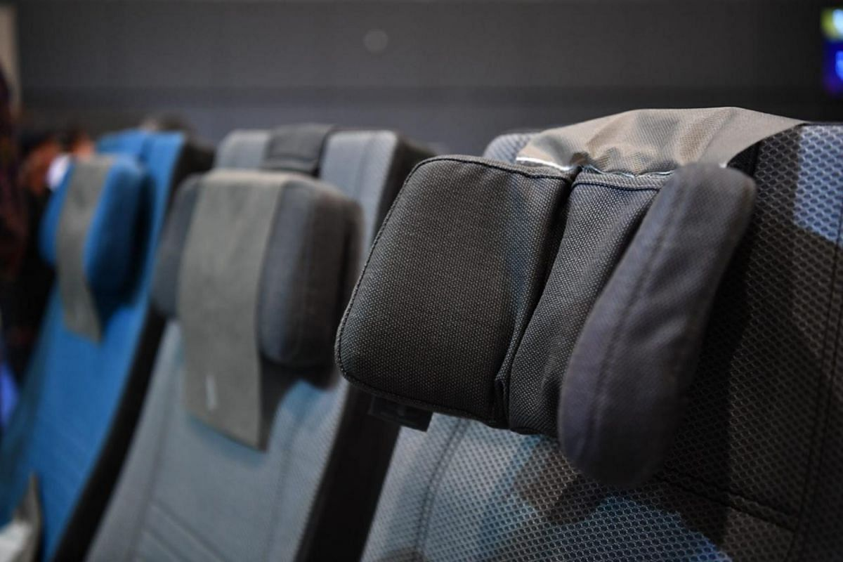 The new Economy class seats will also feature a six-way adjustable headrest.