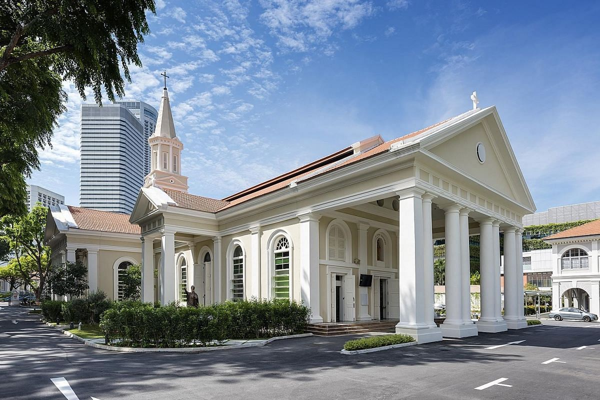 Located in Queen Street, the Cathedral of the Good Shepherd (right) underwent a $40-million restoration which included installing new mechanical and electrical systems in the floor and air-conditioning the building. The pipe organ (above), installed