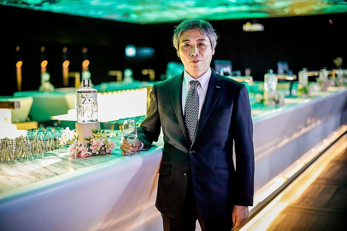 Beam Suntory's senior specialist for gin and spirits Kazuyuki Torii developed Roku gin.