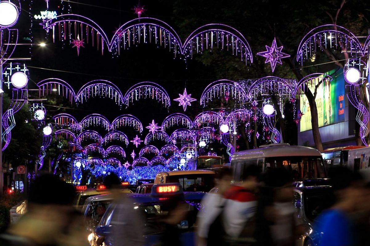 2010: More than a million tiny fairy lights and 55,000 icicles adorned a 2.2km stretch of Orchard Road during the annual Christmas light-up.