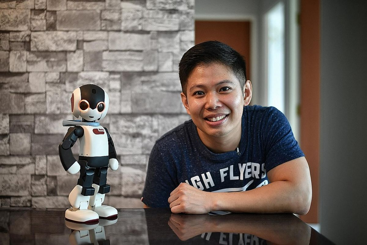 The appeal of the L.O.L. Surprise! Big Surprise toy stems from its slow reveal. Mr Yap Jiawei, a research assistant at a local university, says he feels attached to his Robi because he spent more than a year assembling it.