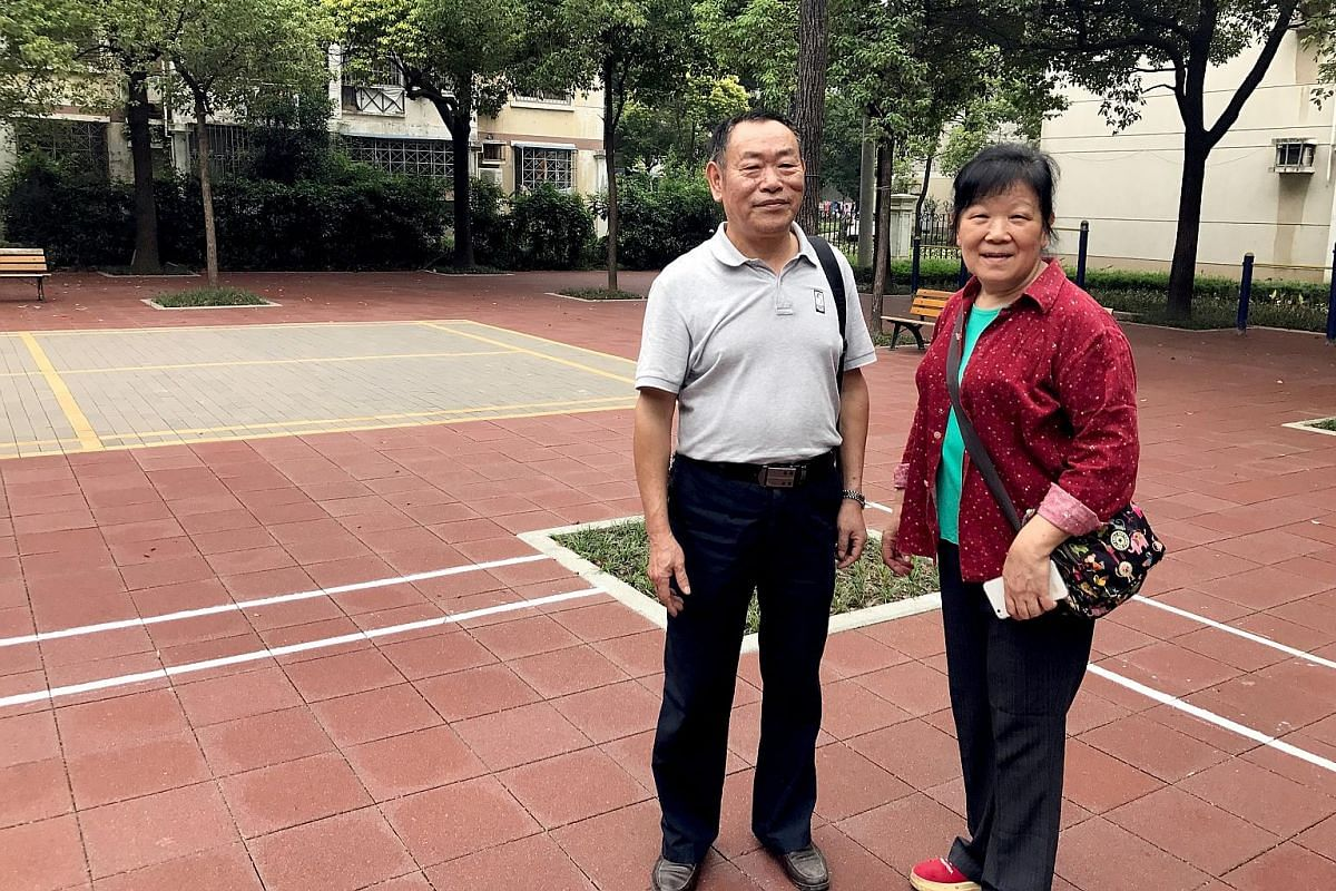 The upgrading works, including newly tiled pavements, more greenery and sports and recreational areas, have left Madam Lei Xiaolan, 65 and Mr Liao Darong, 67, both long-time residents of Wugang Garden 123, very happy.